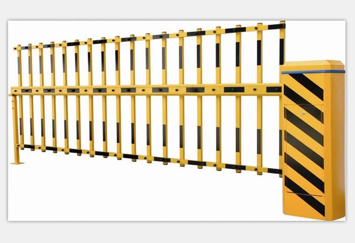 双层栅栏道闸