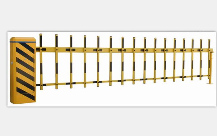 單層柵欄道閘