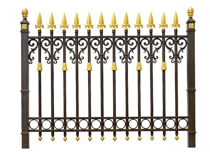 新型铸铝高级围栏