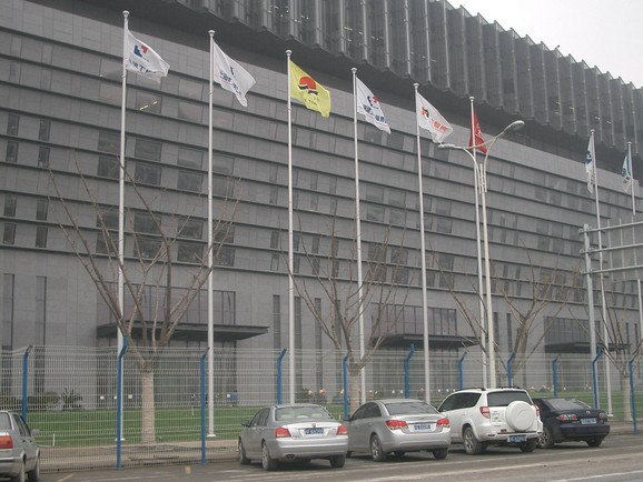 贵州豪华电动铝合金旗杆