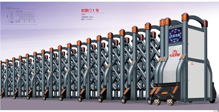 六盤水貴陽電動伸縮門安裝