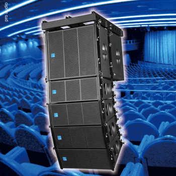 FDB MA206(强磁) 2016新款 专业线性阵列音响 专业演出音响 强磁超轻型 防水性高 高强度高性能