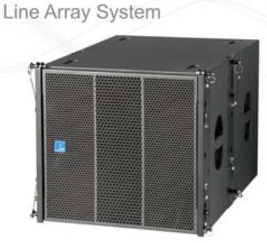 FDB MLA 118s (强磁)线阵超低音 配MLA208 使用