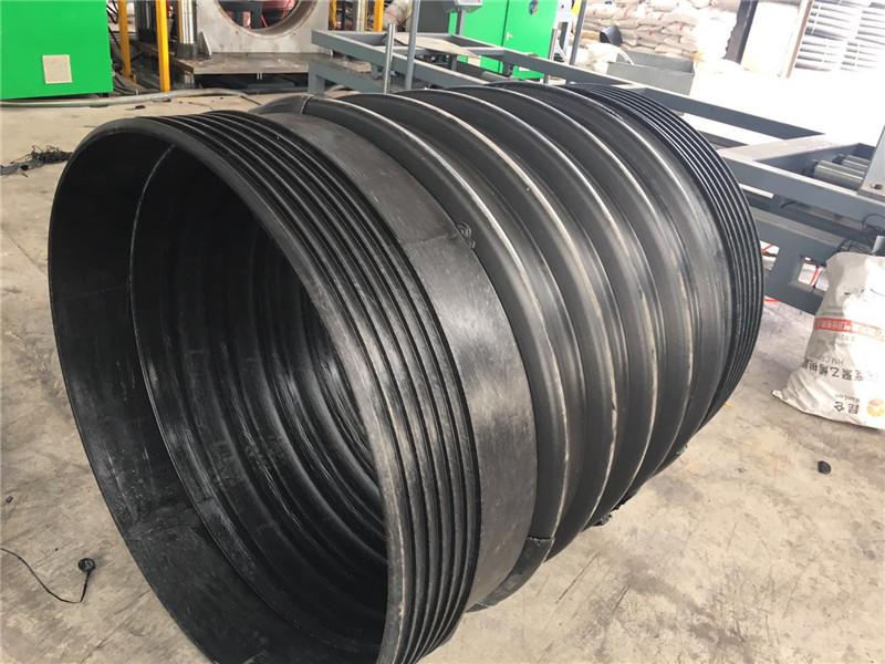 扩口钢带增强波纹管批发