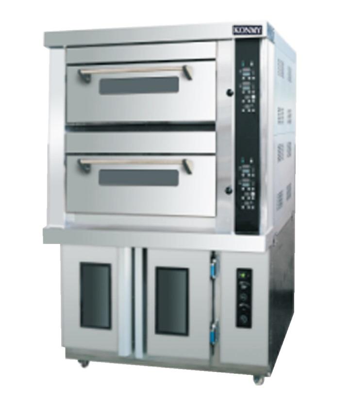 2层4盘电烤炉+12盘醒发箱
