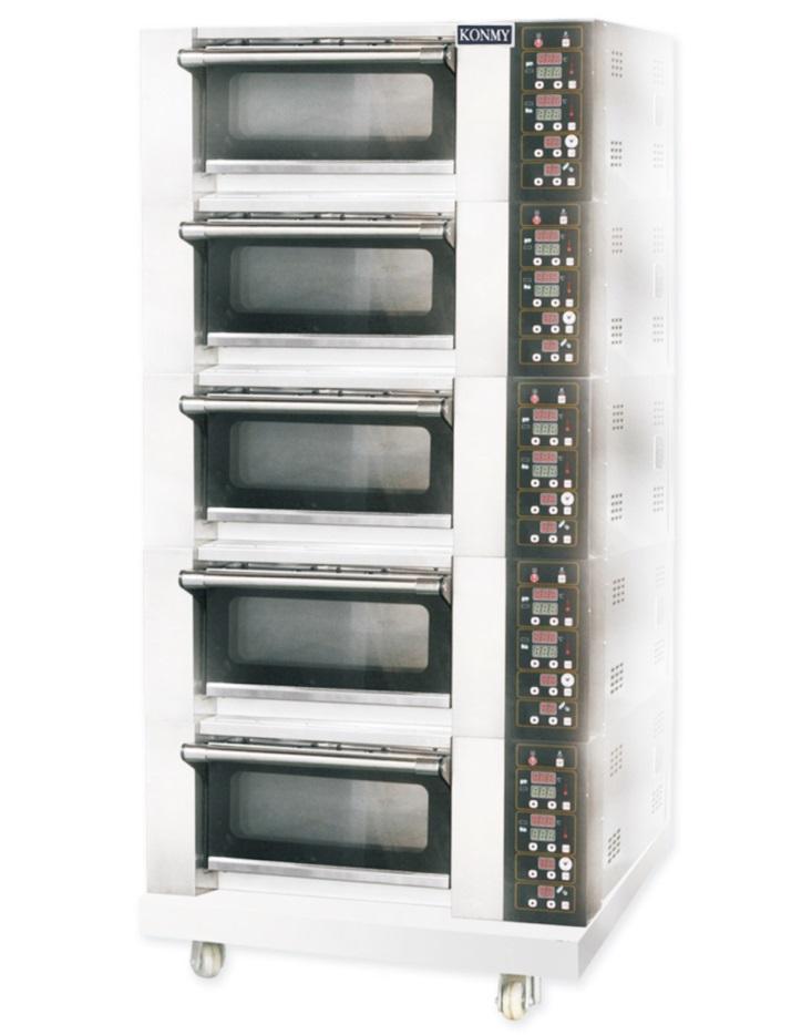 5层5盘电烤炉