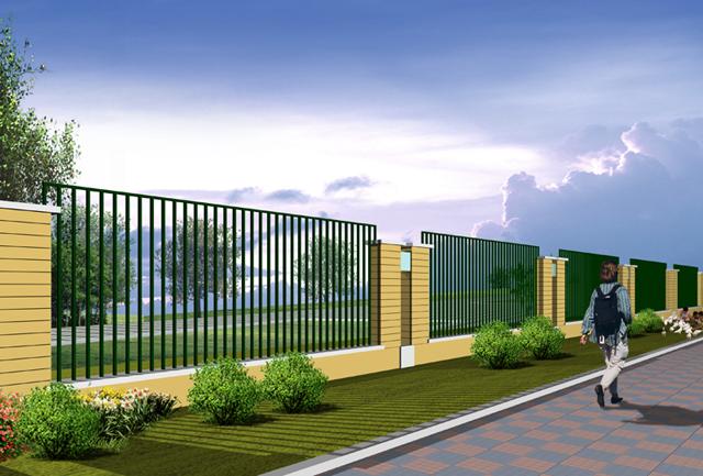 焊接铸铁围墙