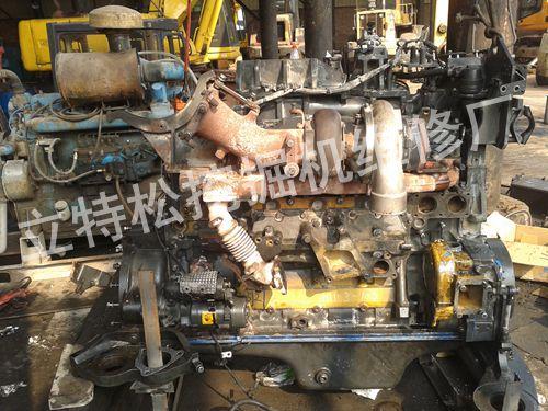 重庆小松挖掘机维修|小松360热机动作缓慢无力维修