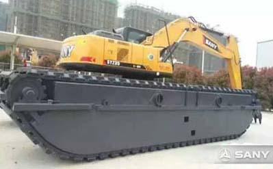 三一SY235水陆挖掘机介绍