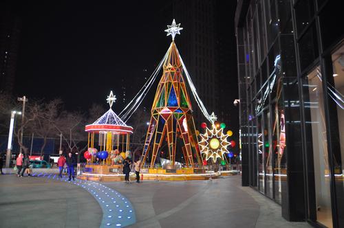 河北商场美陈设计