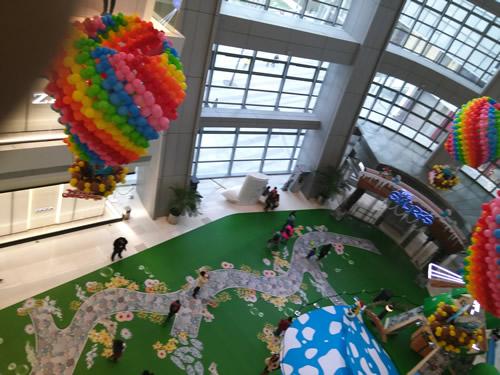 天津商场美陈设计