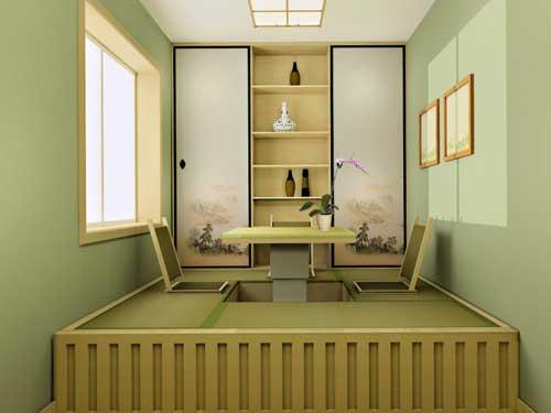 榻榻米房间