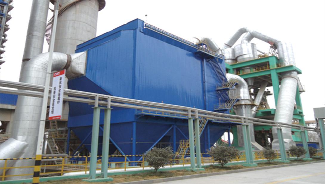 大型行喷脉冲袋式降低除尘器