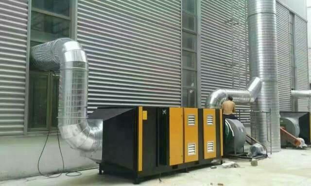 汽车喷烤漆房光氧催化装置厂家