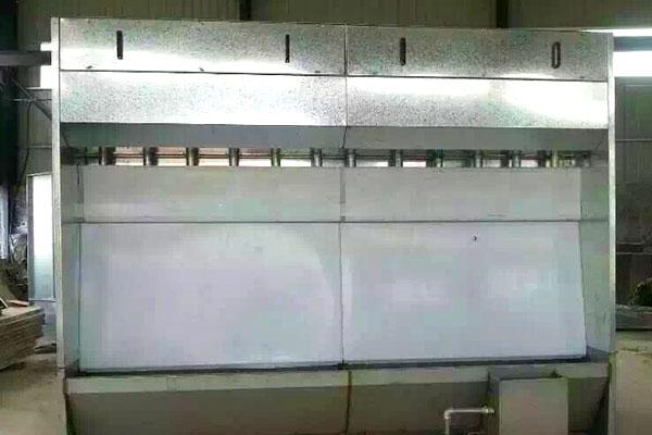 JN-4  型系列无泵水幕喷漆室