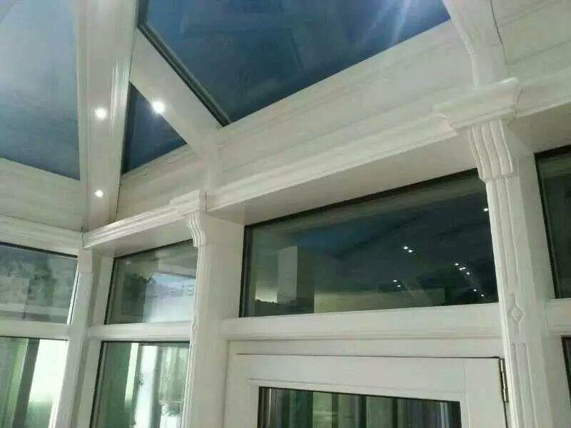 铝包木阳光房的结构