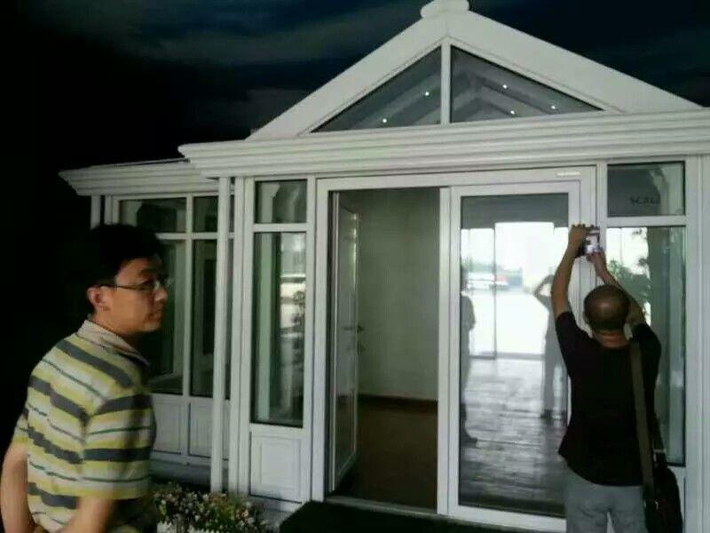 铝包木阳光房的案例展示