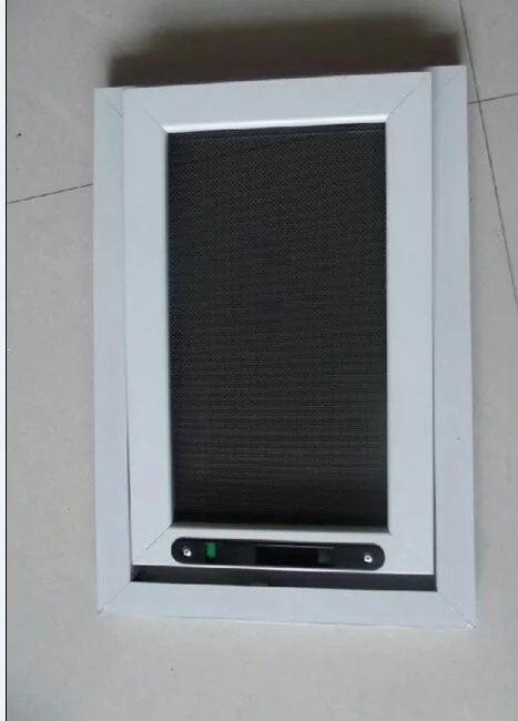 单窗式金刚网安防纱窗