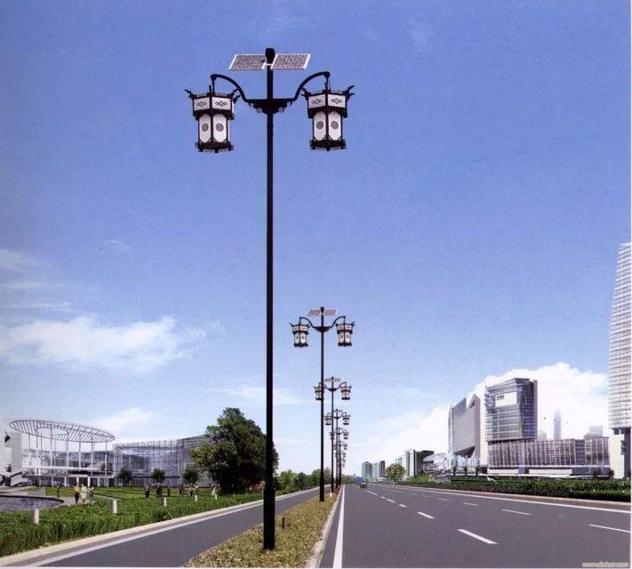 山西太阳能路灯厂家现货供应 惠山极光 太阳能路灯型号