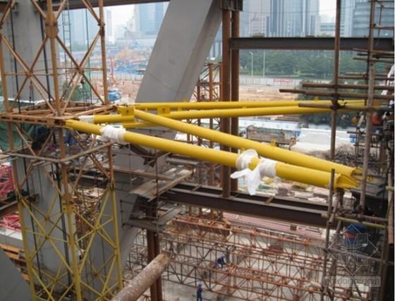 塔吊附着拉杆