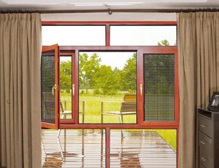 贵州贵阳窗纱一体门窗