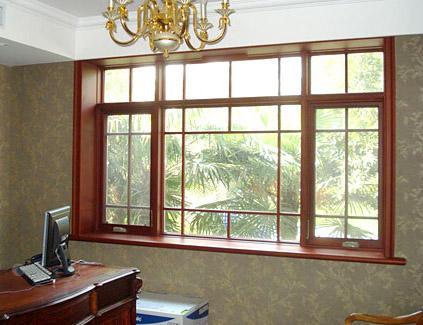 贵州贵阳铝包木门窗