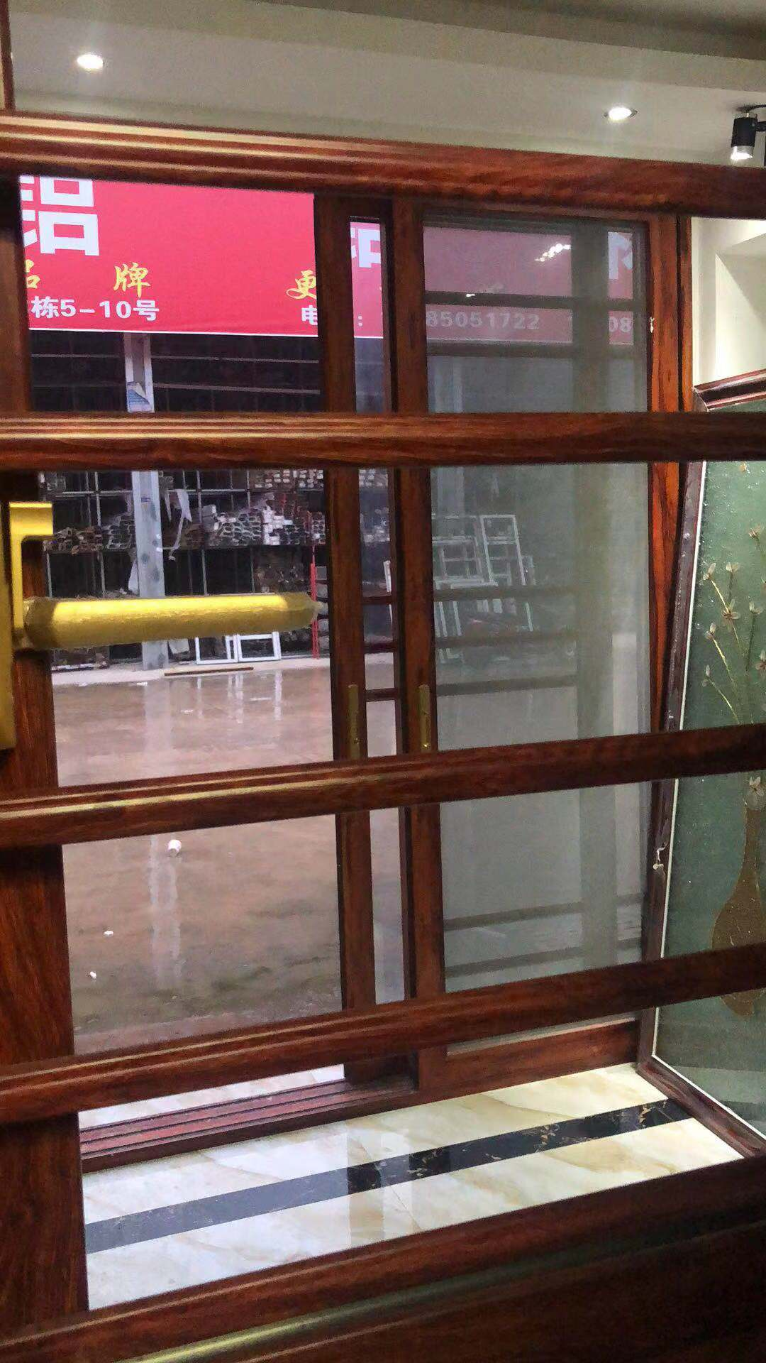 贵州65窗纱一体断桥平开窗