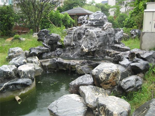 四川太湖石假山制作