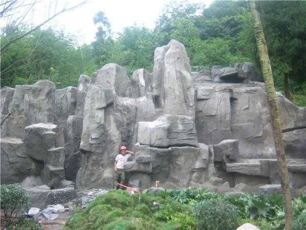 成都塑石假山