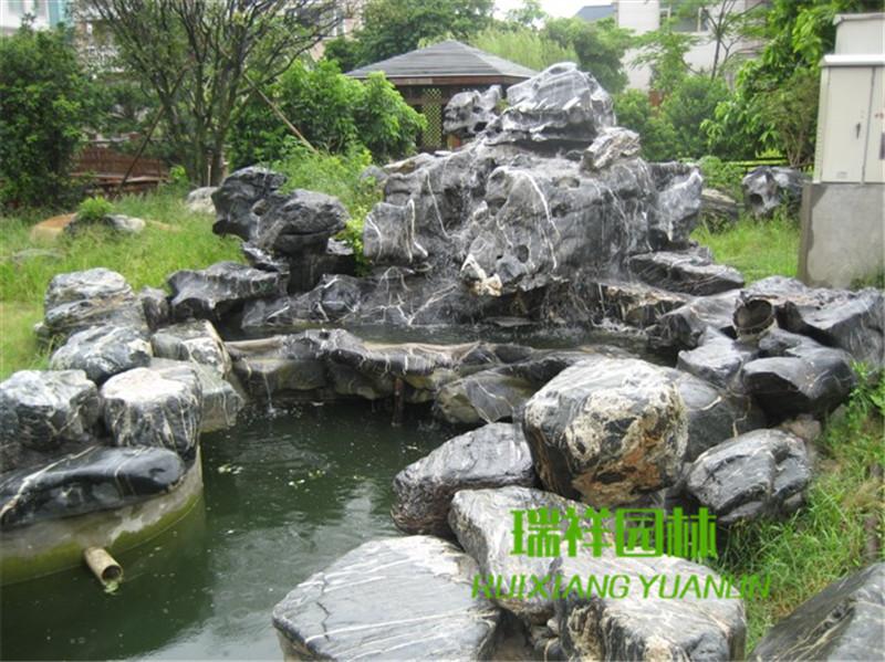 太湖石假山设计