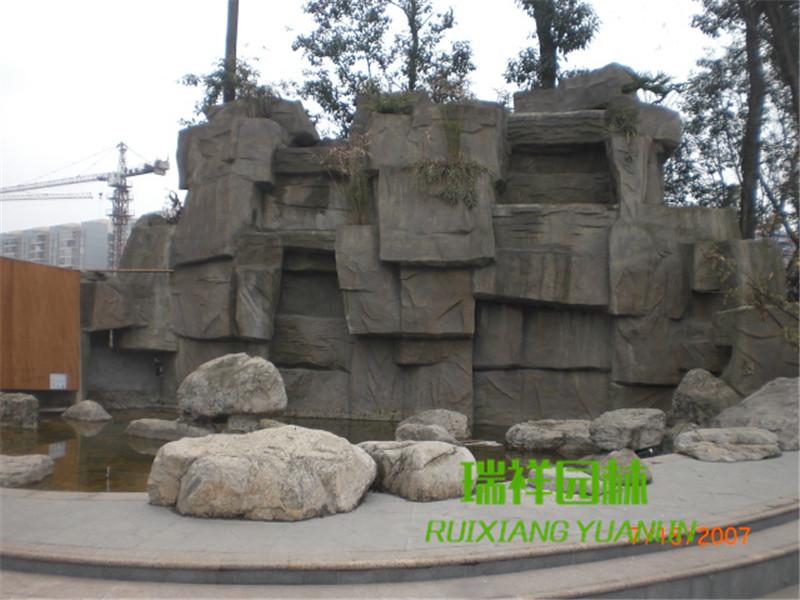 成都塑石假山景观