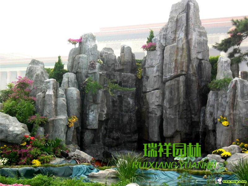 成都塑石假山景观设计