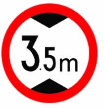 3.5m交通标牌