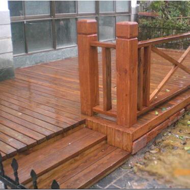 石家庄防腐木围栏
