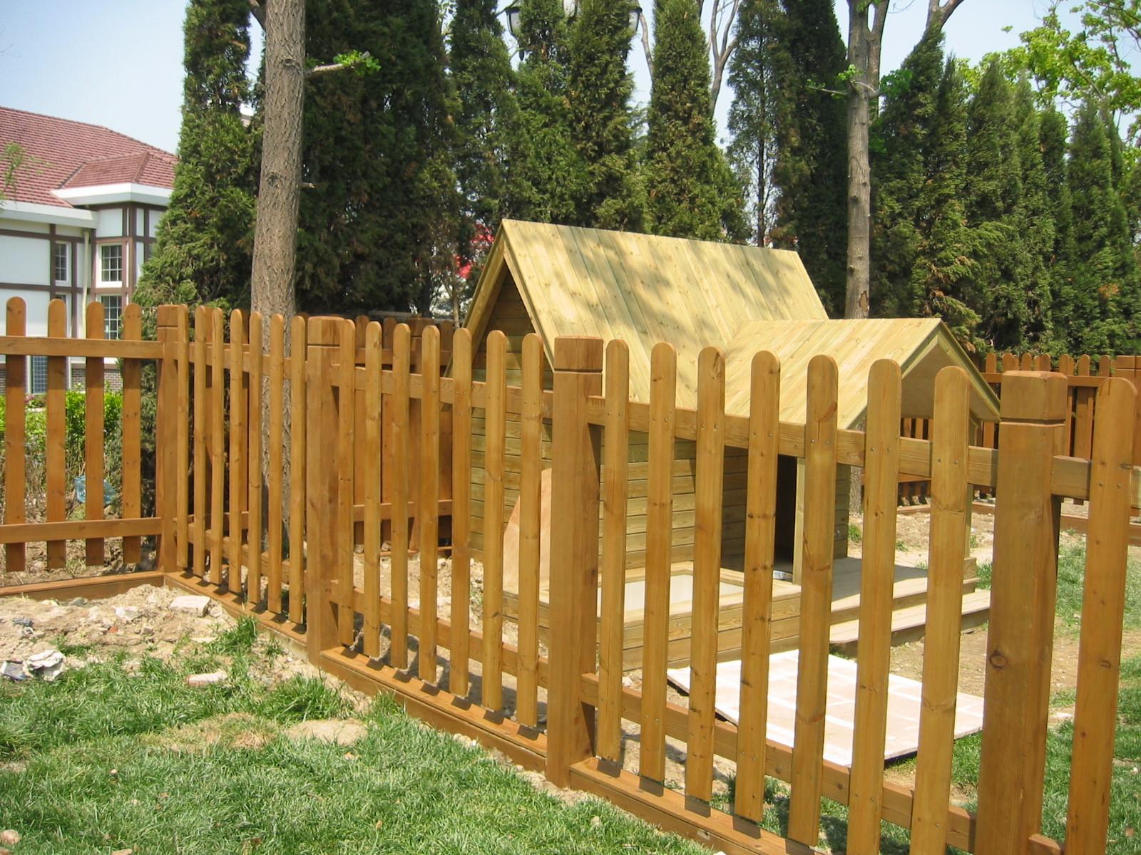 石家庄防腐木栏杆