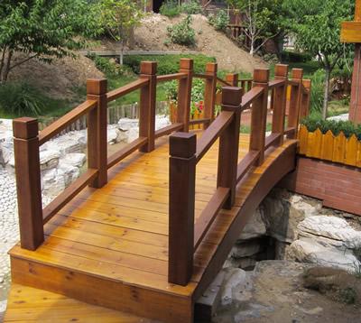 石家庄防腐木木桥