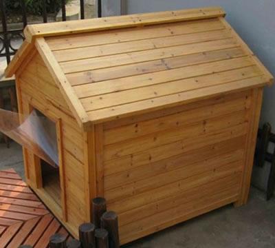 防腐木宠物木屋