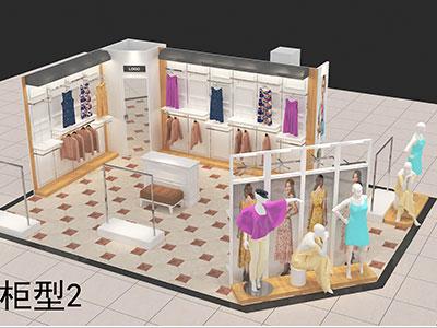 服装展柜制作