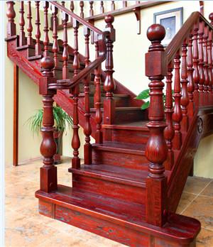 兰州实木楼梯