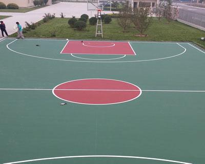 丙烯酸籃球場材料