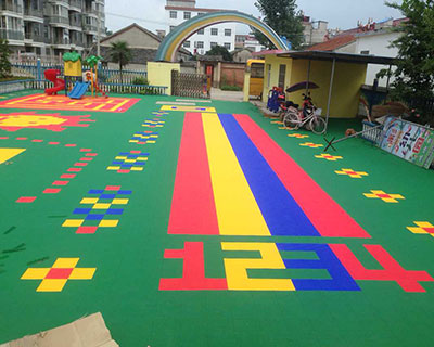 悬浮地板幼儿园