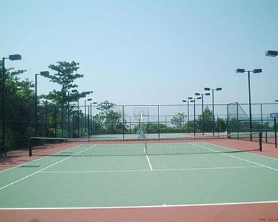 石家庄塑胶网球场
