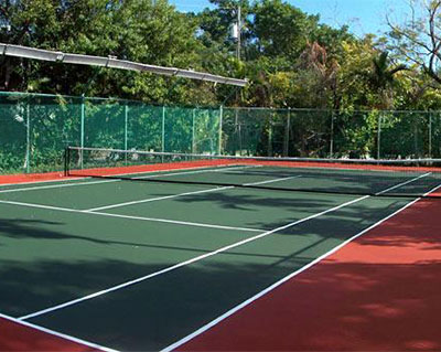 石家庄网球场塑胶施工
