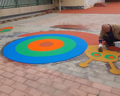 石家庄塑胶幼儿园施工