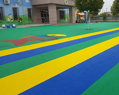 河北塑胶幼儿园施工