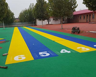石家庄幼儿园塑胶施工