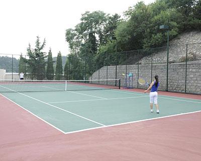石家庄丙烯酸网球场施工