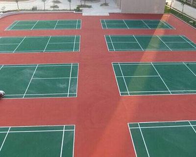 河北丙烯酸网球场施工