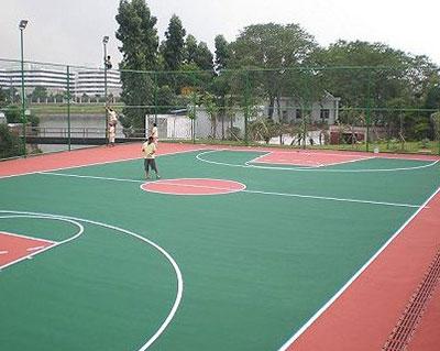 河北丙烯酸篮球场施工