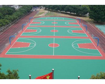 河南硅pu塑胶球场施工